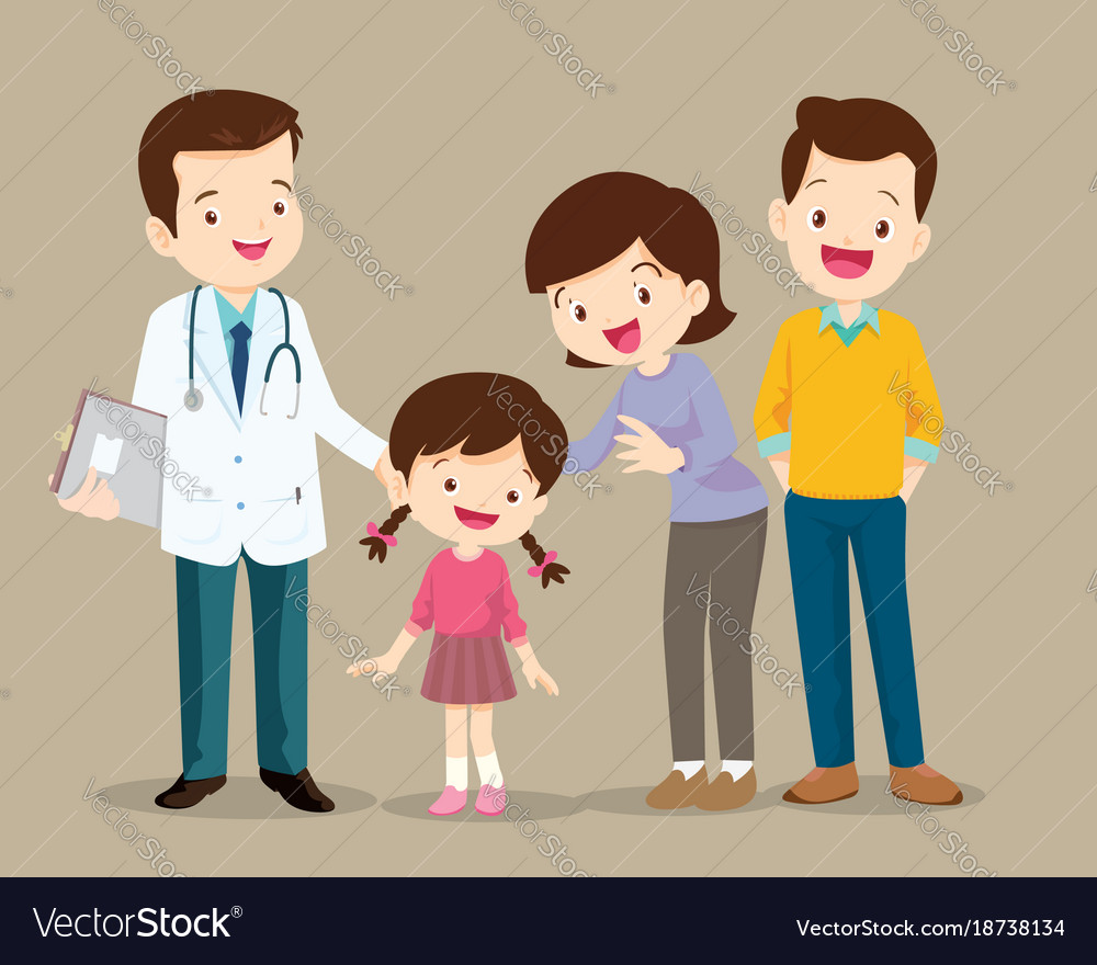 https://cdn5.vectorstock.com/i/1000x1000/81/34/cute-family-visiting-the-doctor-vector-18738134.jpg
