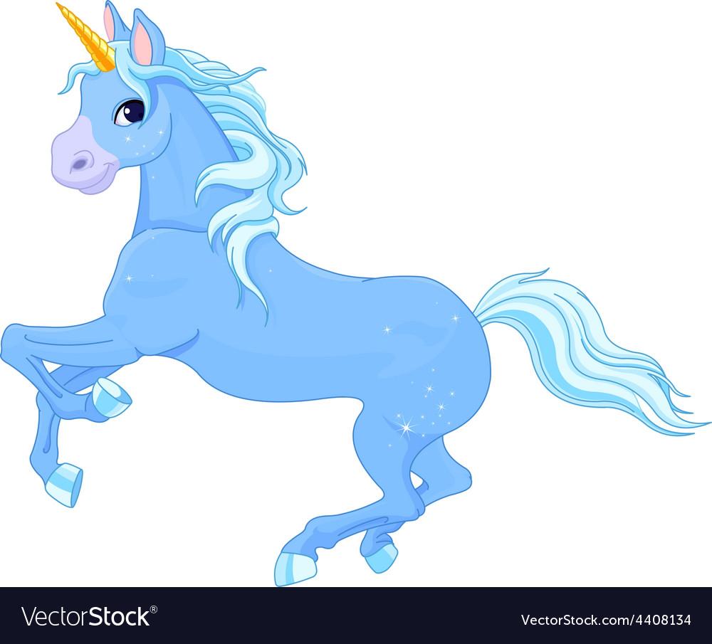 Fairy unicorn vector image