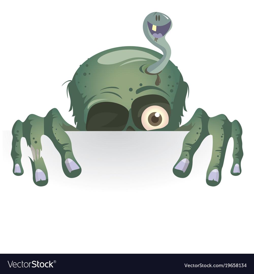 Stickers peeking monster