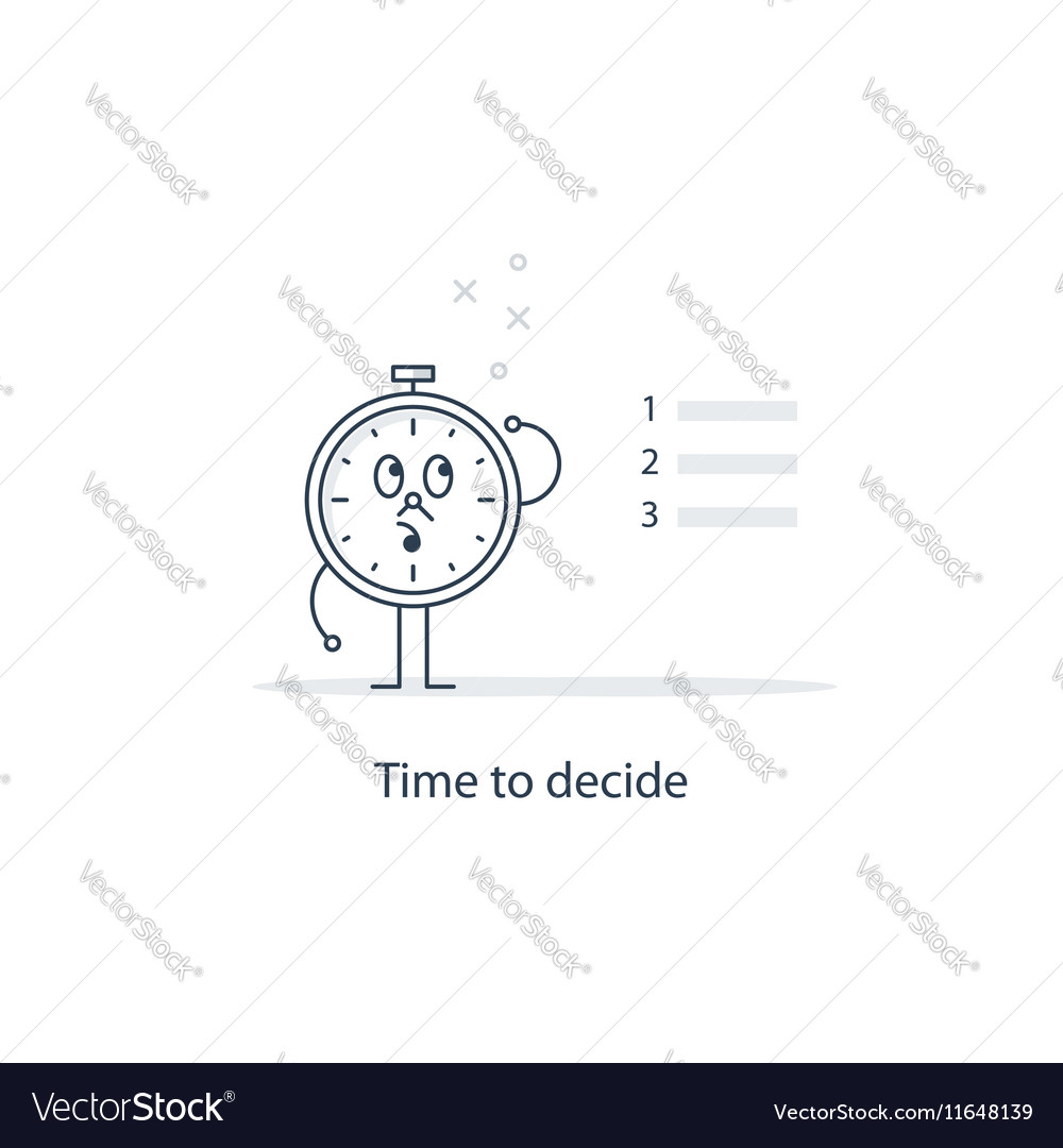 Choose between options