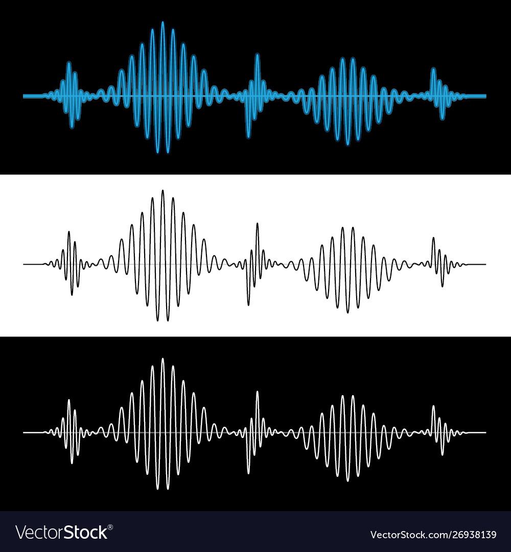 Sound wave vibration signal