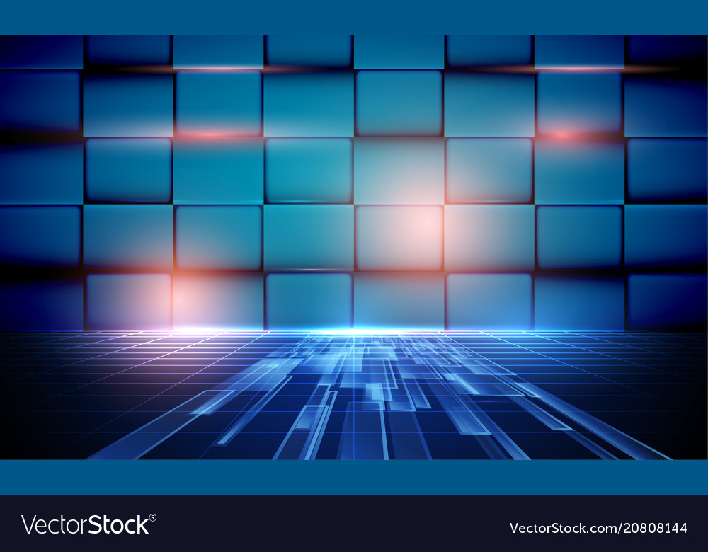 Abstract background with high speed technology
