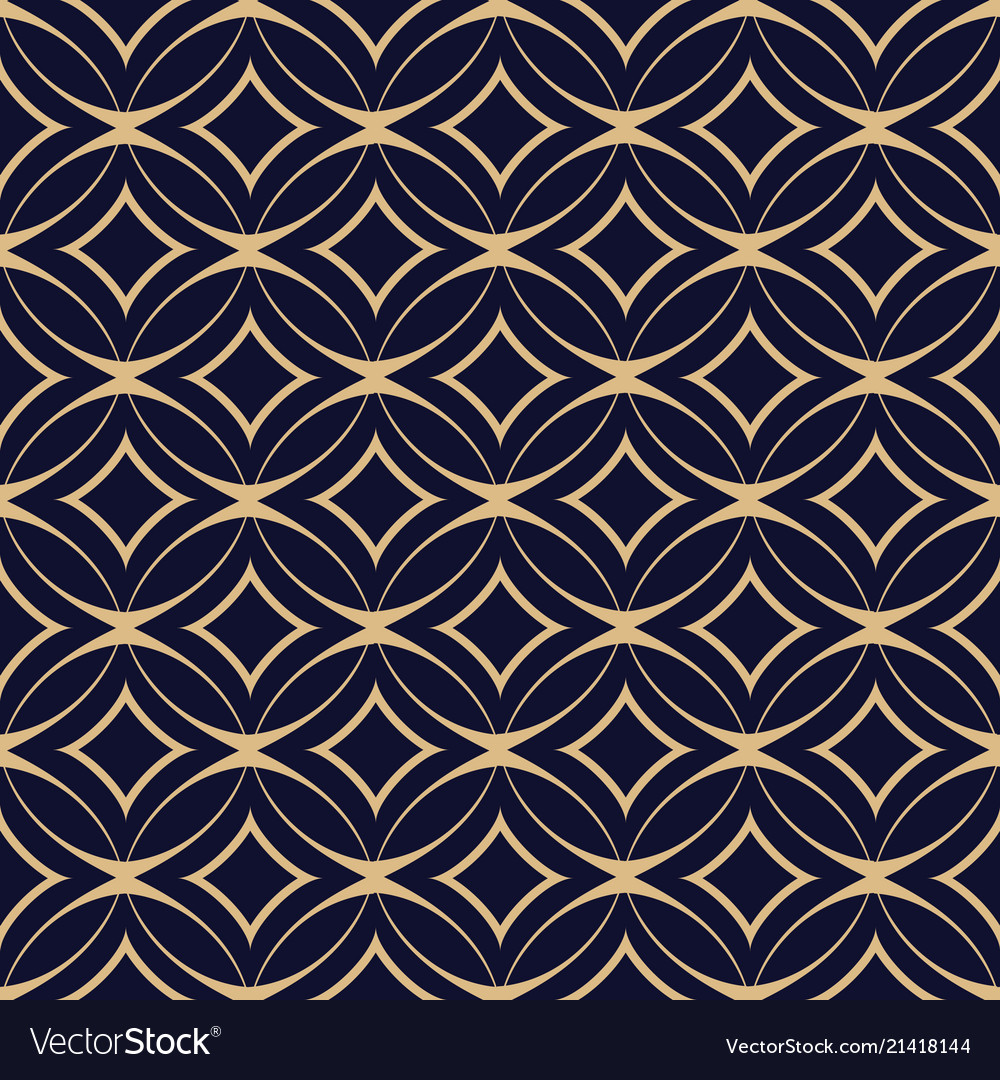 Abstract geometric seamless pattern with