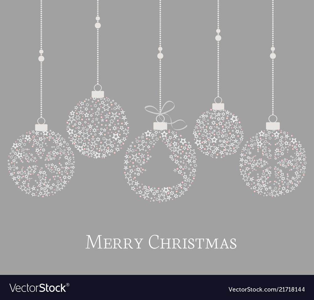 Christmas balls decoration