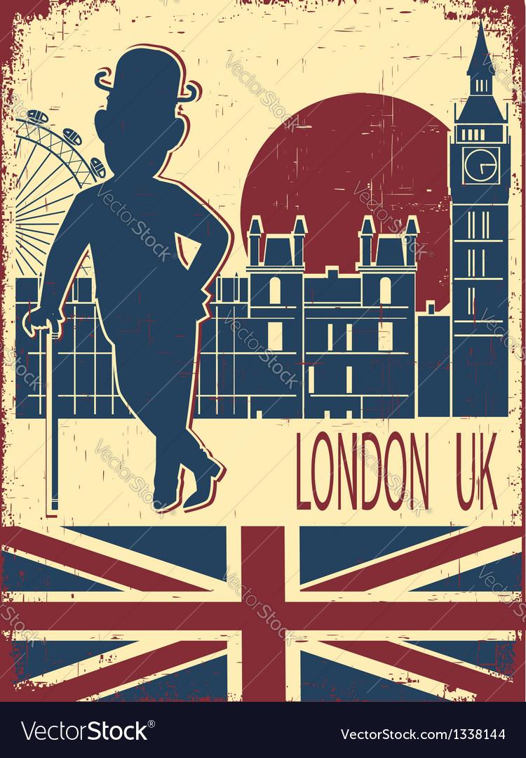 Gentleman with London background