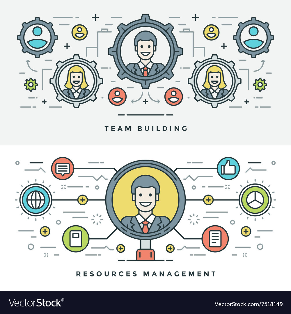 Flat line Team Building and Management