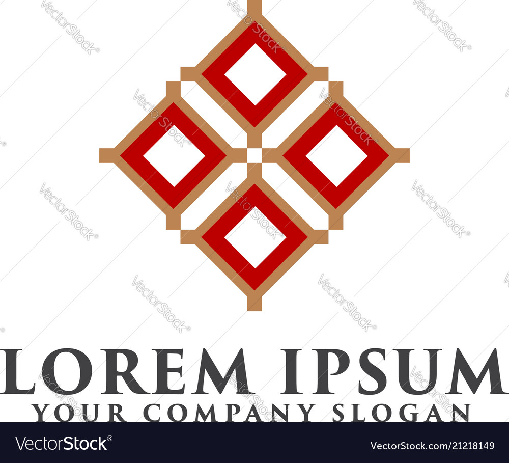 Logo for interior furniture shops decor items