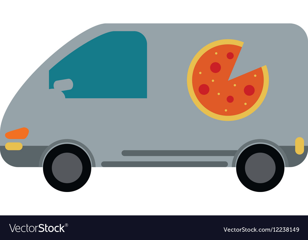 Pizza delivery car van service