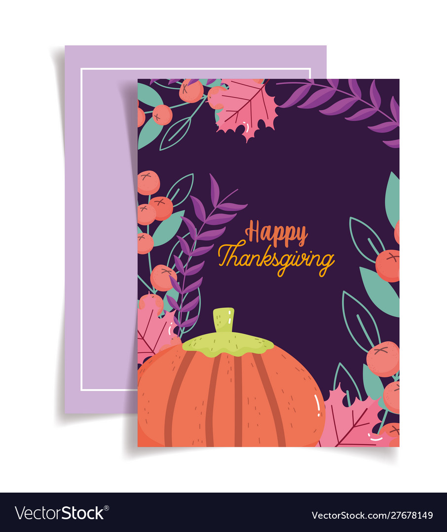 Thanksgiving greeting card celebration seasonal