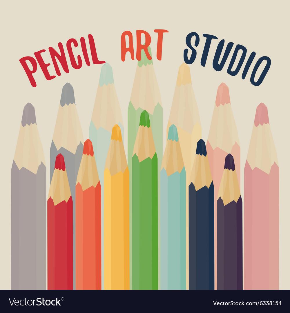 Pencil art studio