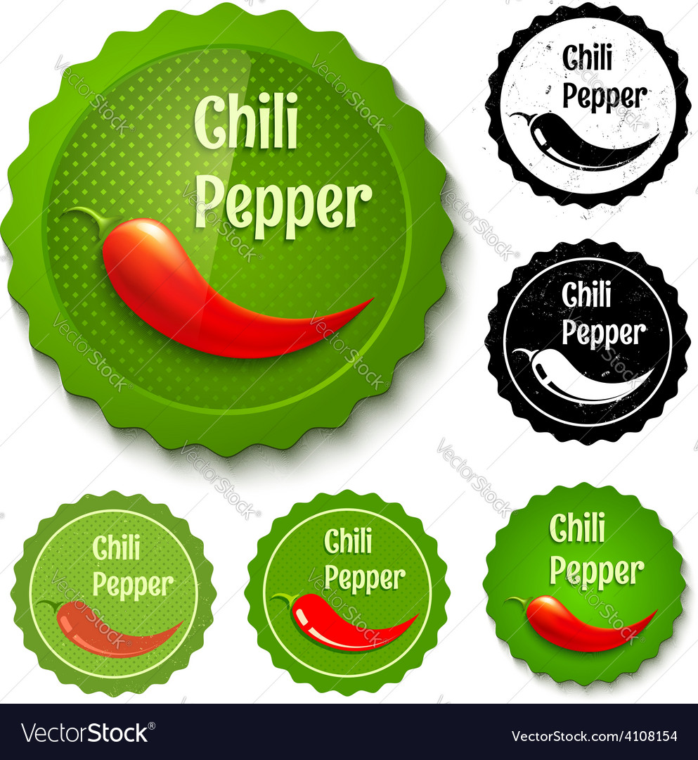 Red chili banners