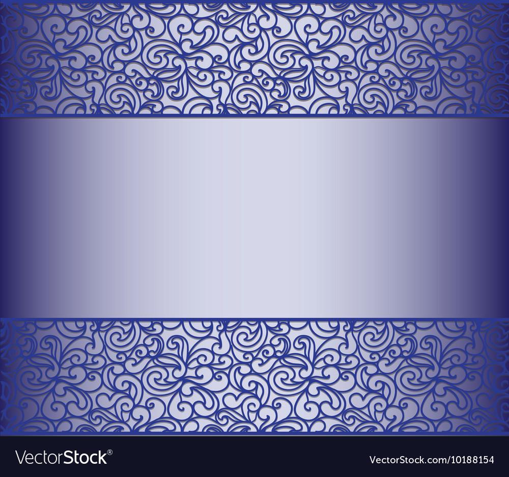 Blue Vintage Lace