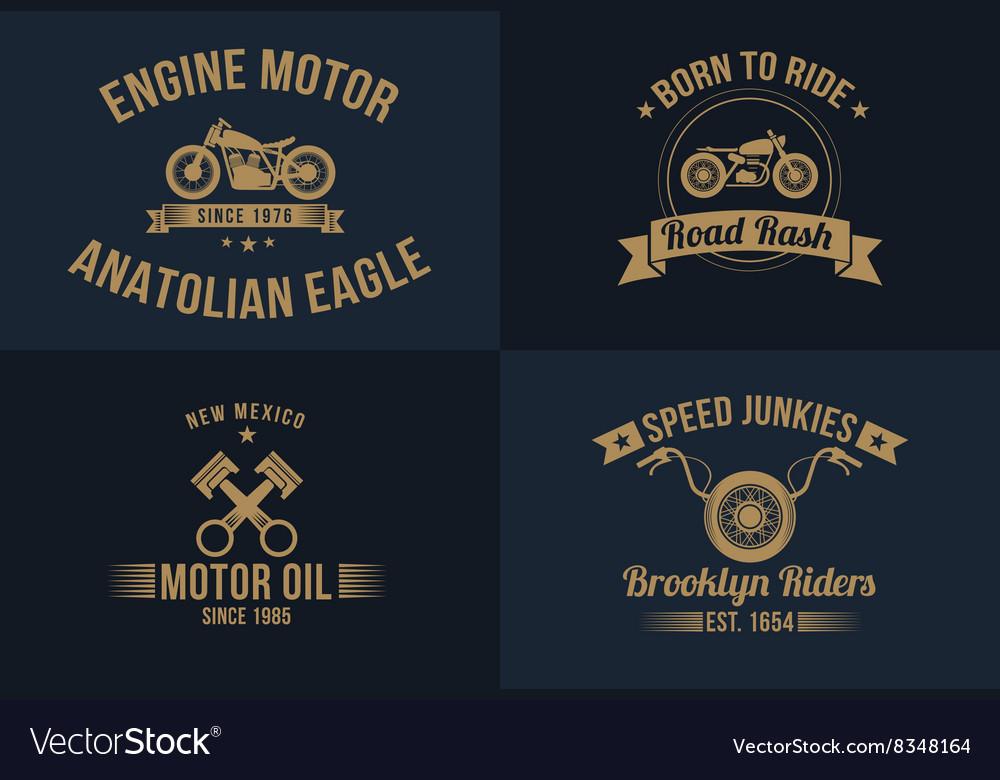 Typography t-shirt design set