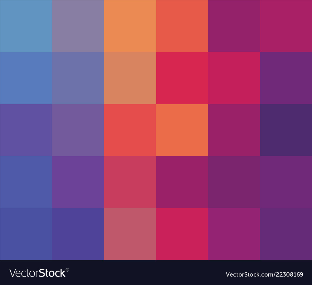 Abstract squares colorful background template