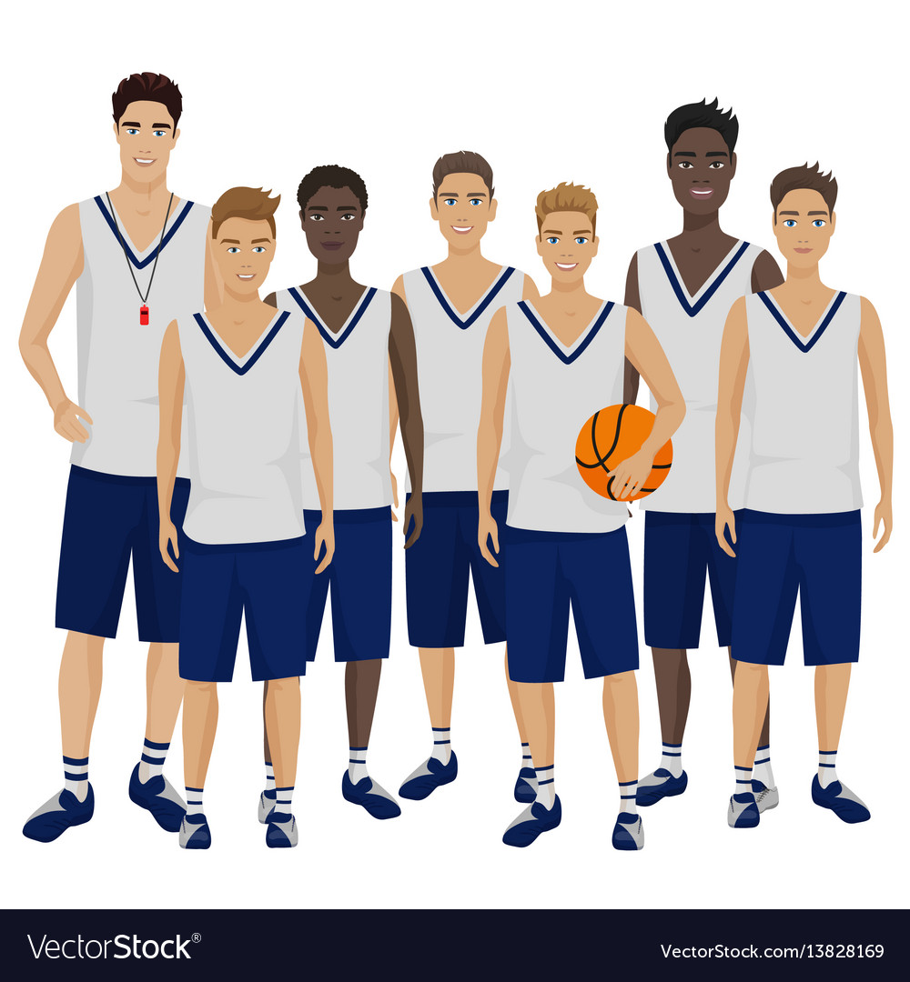 The young basketball