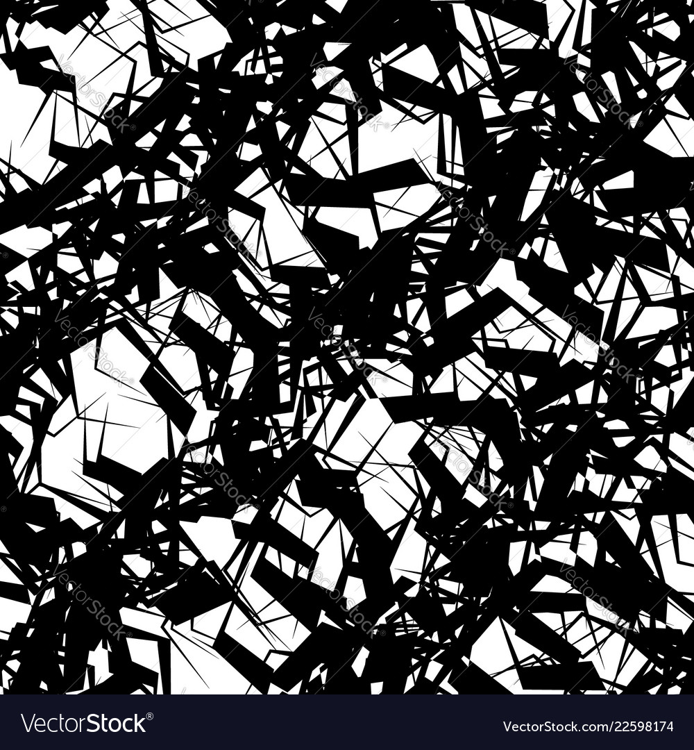entangled squiggly lines chaotic abstract vector image