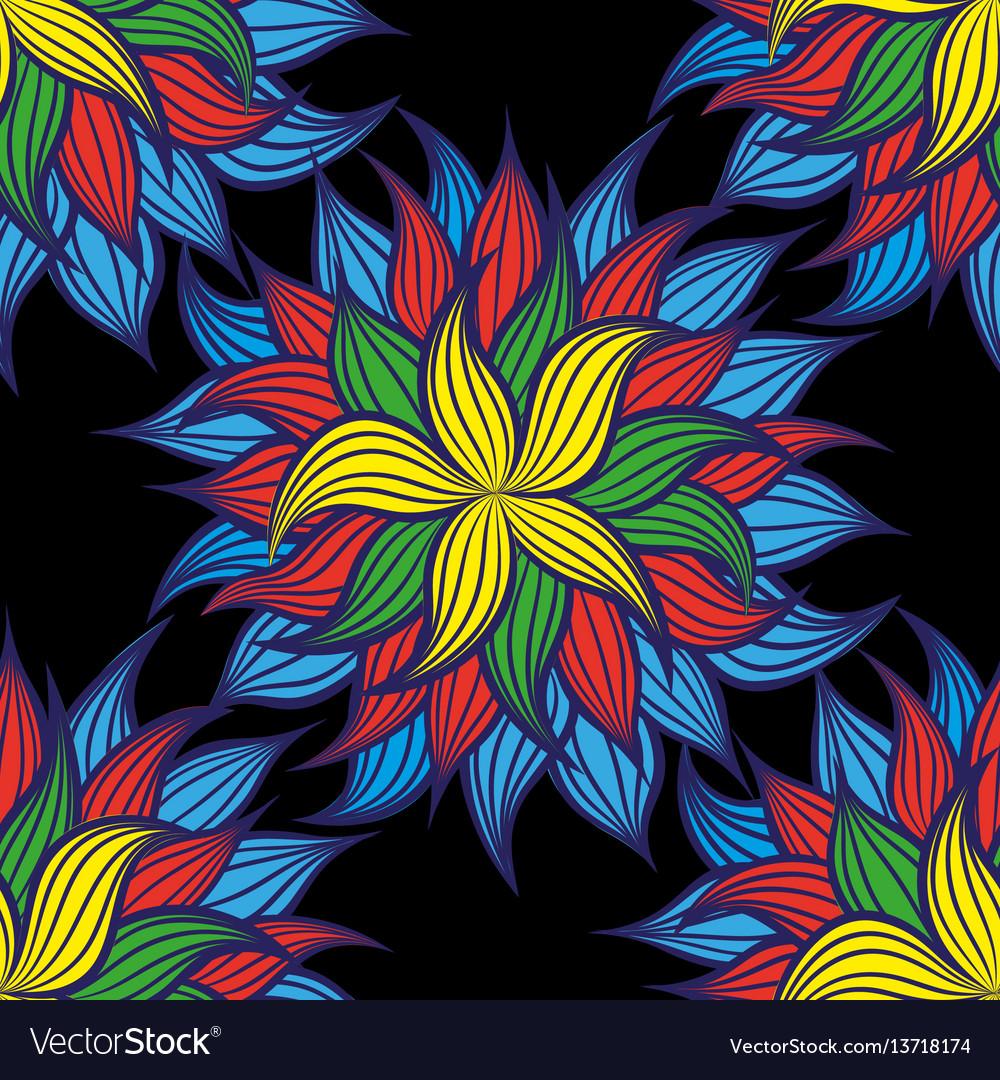 Floral pattern style vintage luxury fabrics