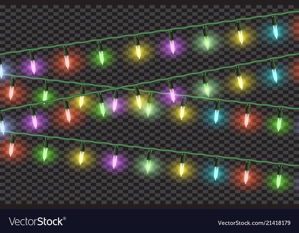Christmas lights effectsgarlands