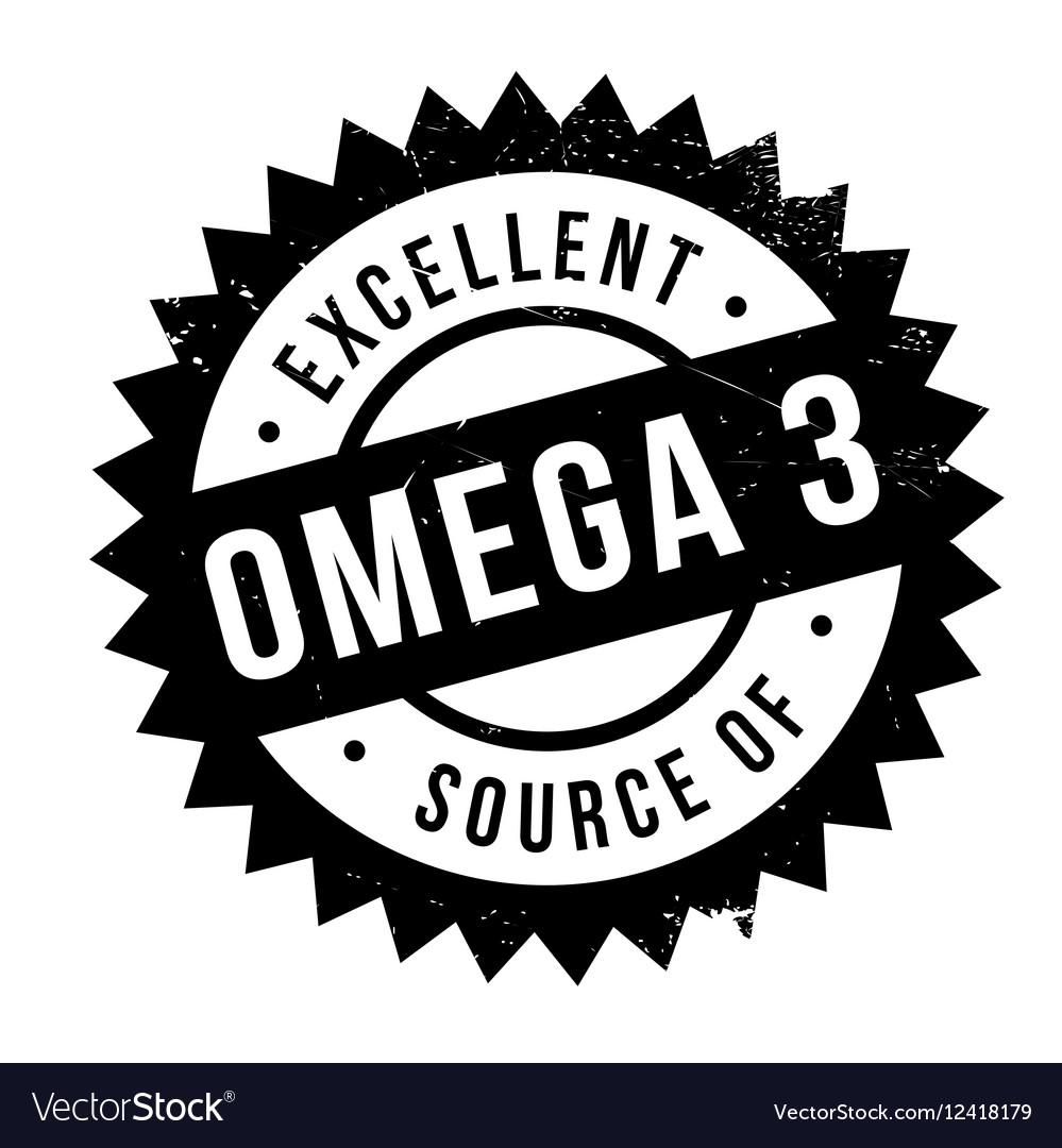 Excellent source of omega 3 stamp