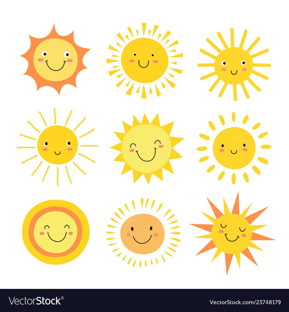 Sun emoji funny summer sunshine sun baby happy