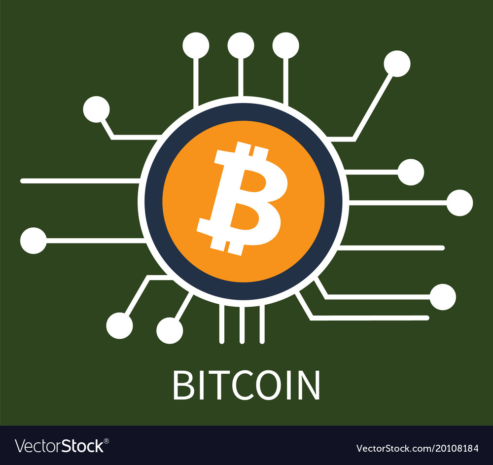 Bitcoin cryptocurrency poster
