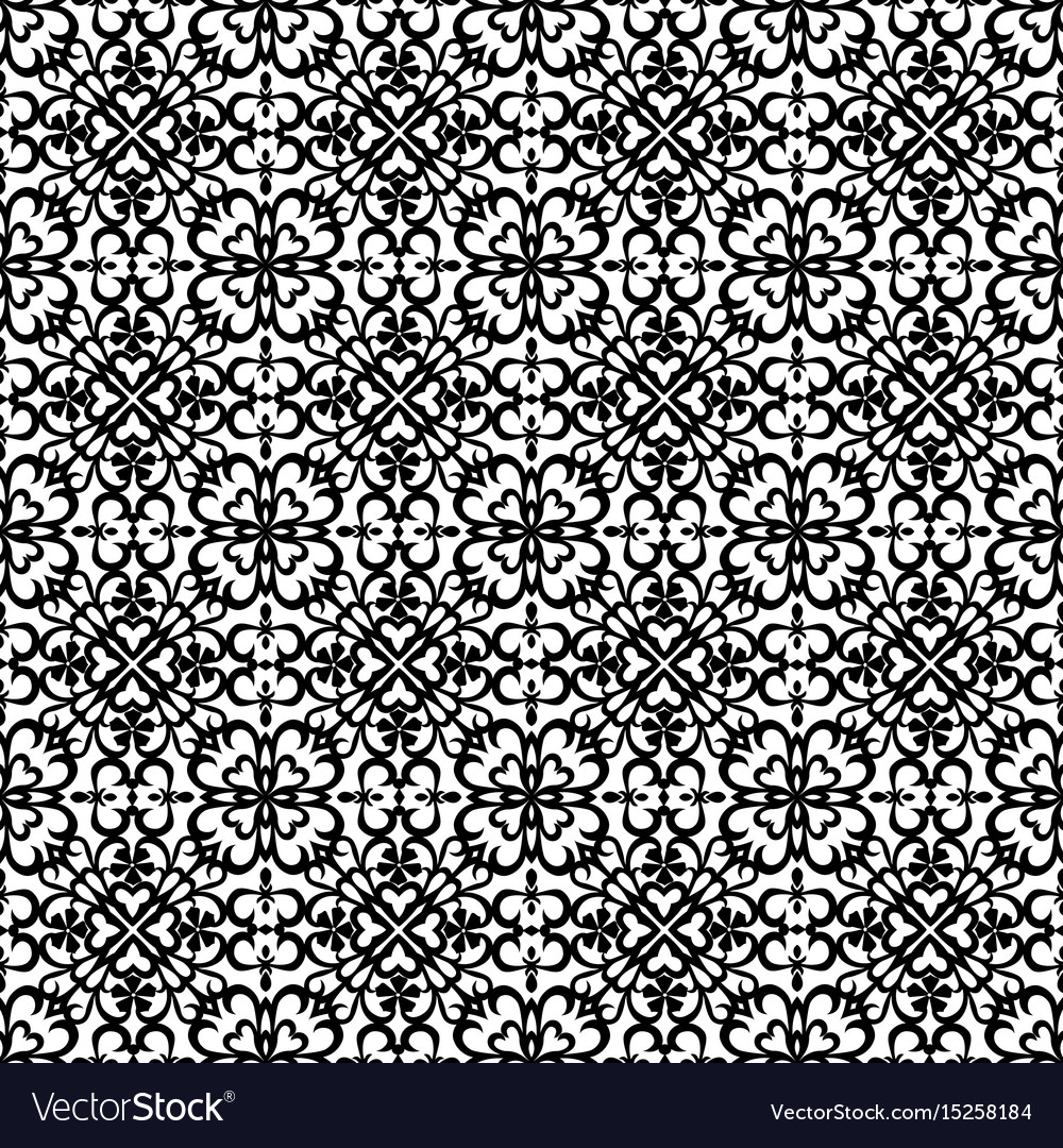 Black abstract pattern