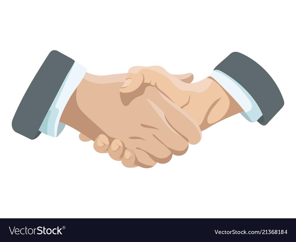 Business handshake affiliate handshake shaking