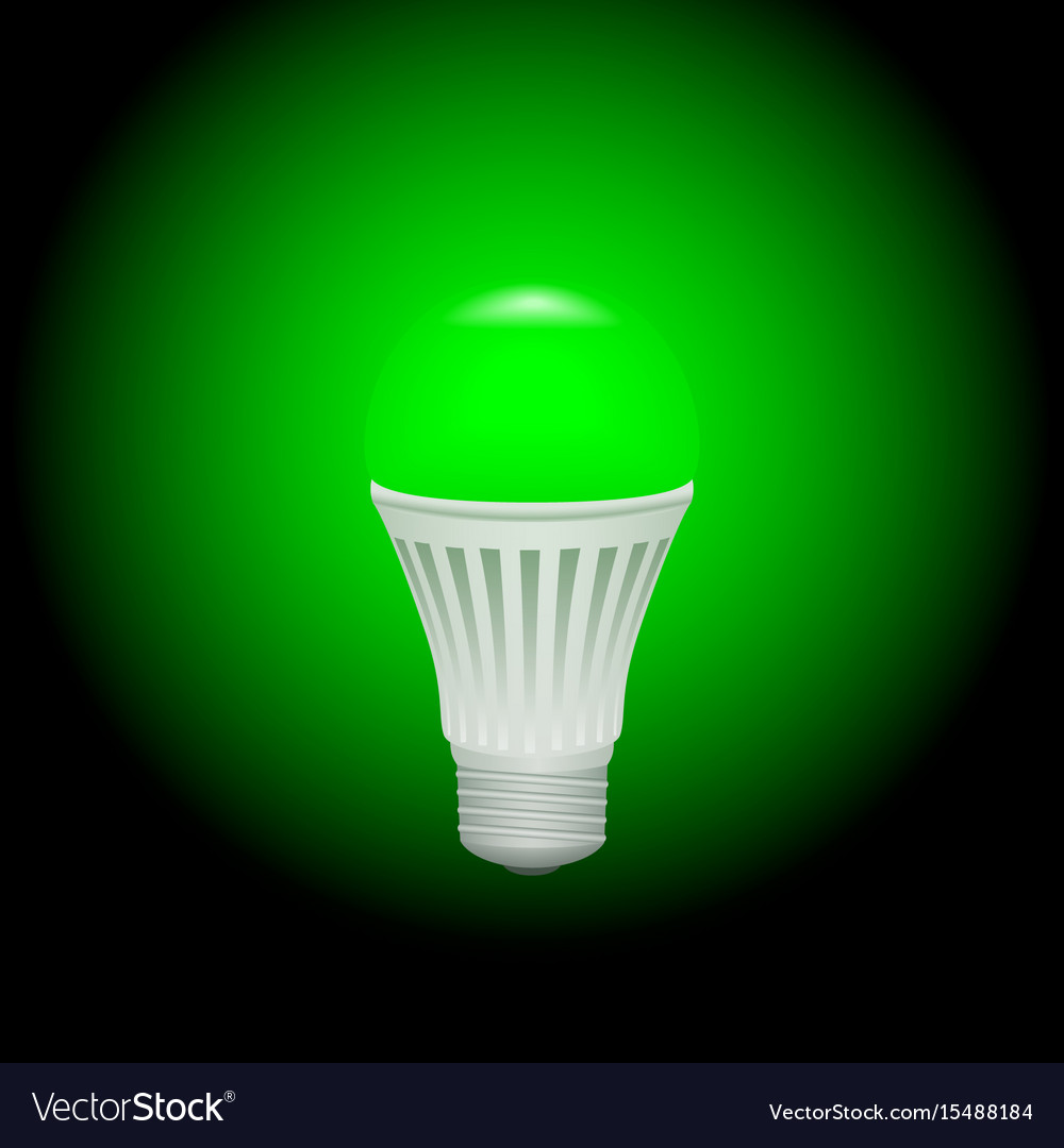 light concept energy royalty bulb image bulbs free saving vector green power