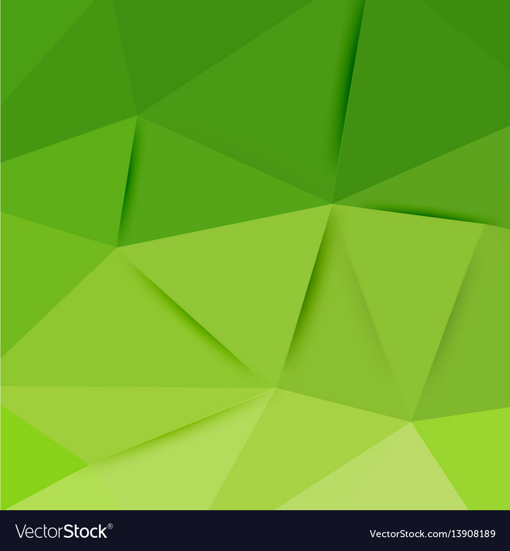 Abstract green graphic art