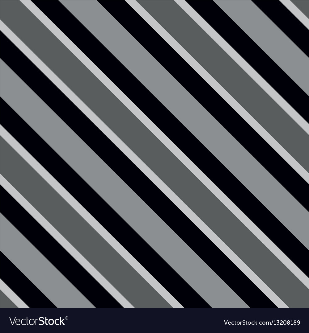 Tile pattern with black white and grey stripes Vector Image