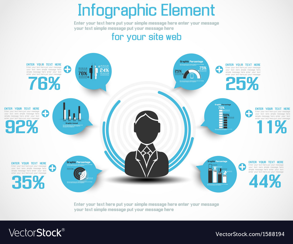 INFOGRAPHIC MODERN PEOPLE BUSINESS NEW STYLE 2