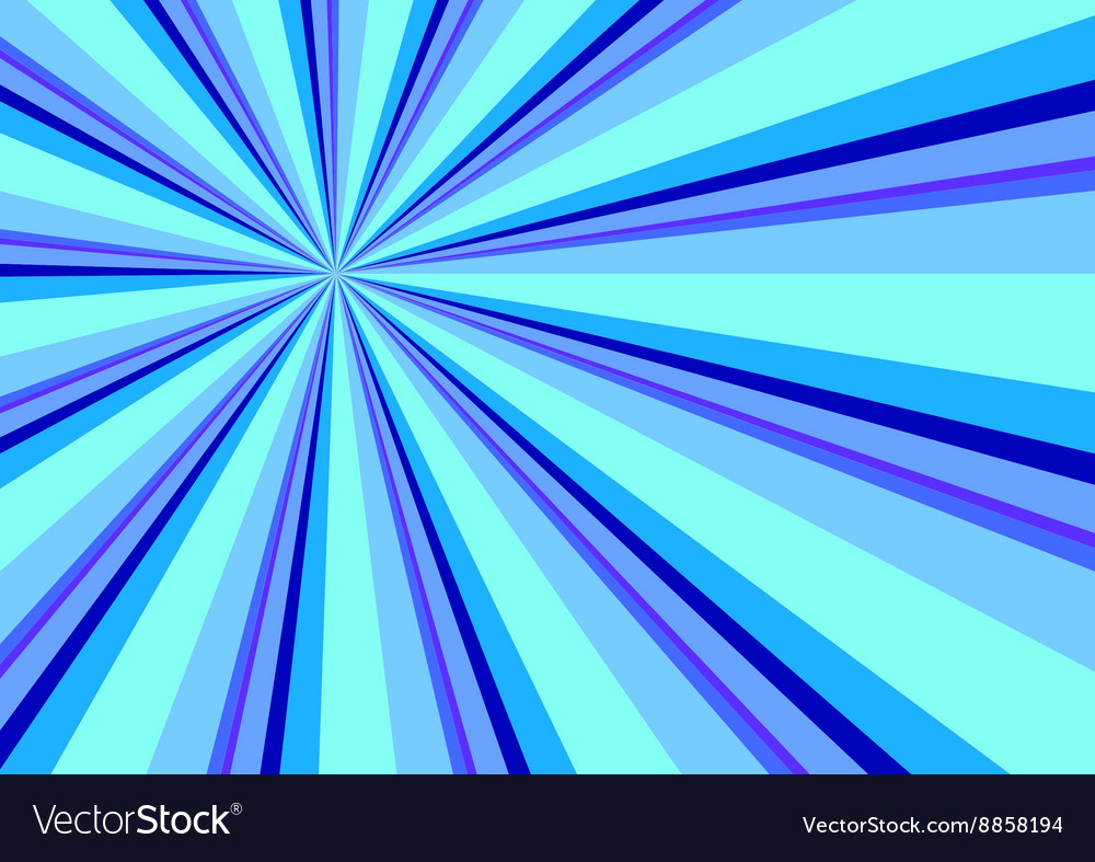 Light Ray Burst Abstract Background Blue