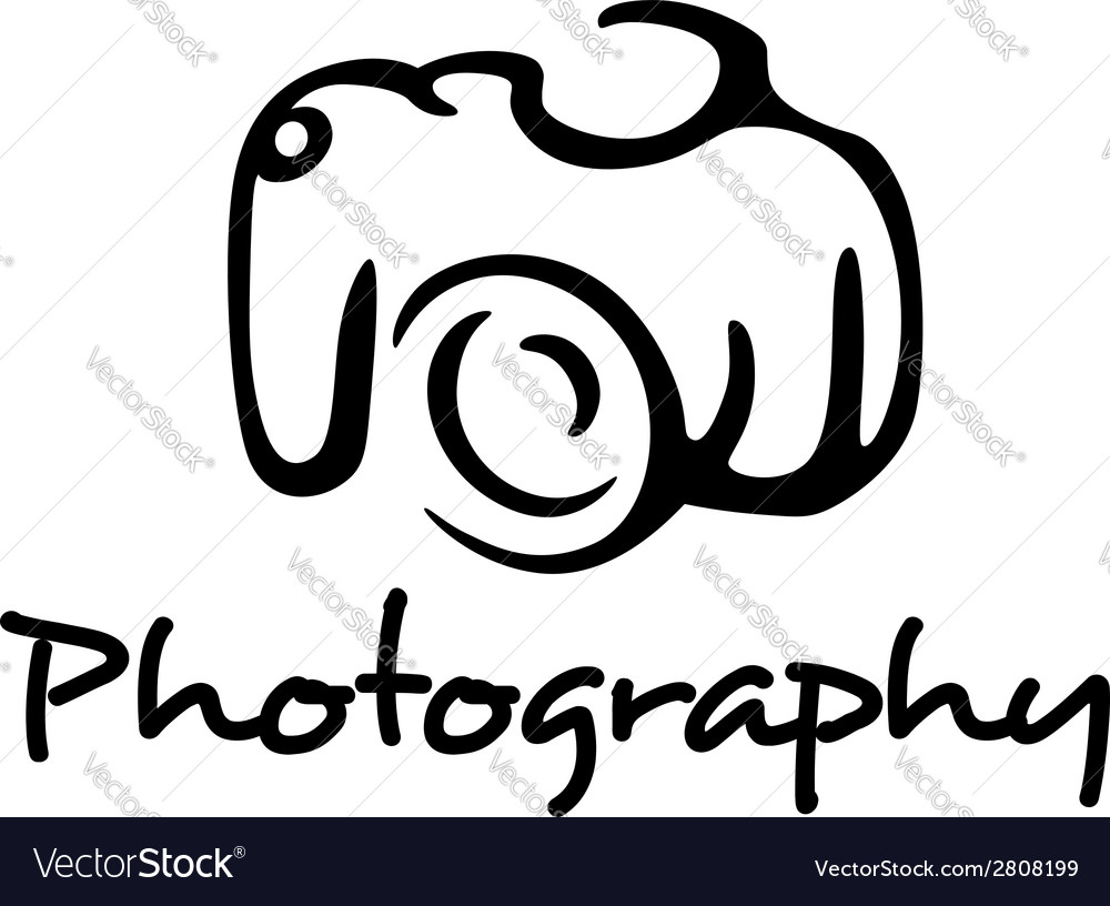 camera and photography emblem royalty free vector image rh vectorstock com photography vector icons photography vector logo