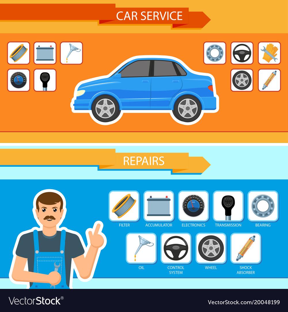 car-repair-mechanics-services-infographi