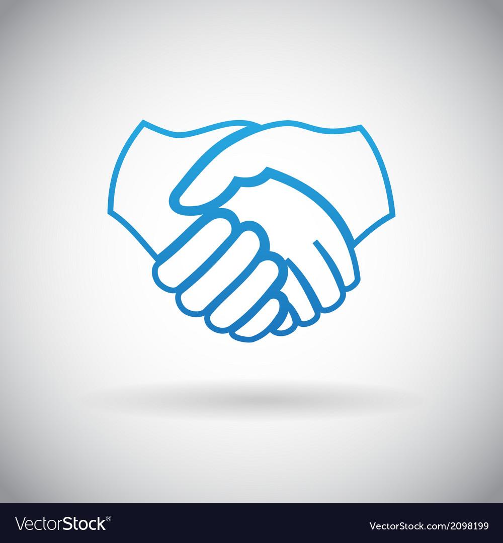 Handshake Cooperation Partnership Icon Symbol Sign