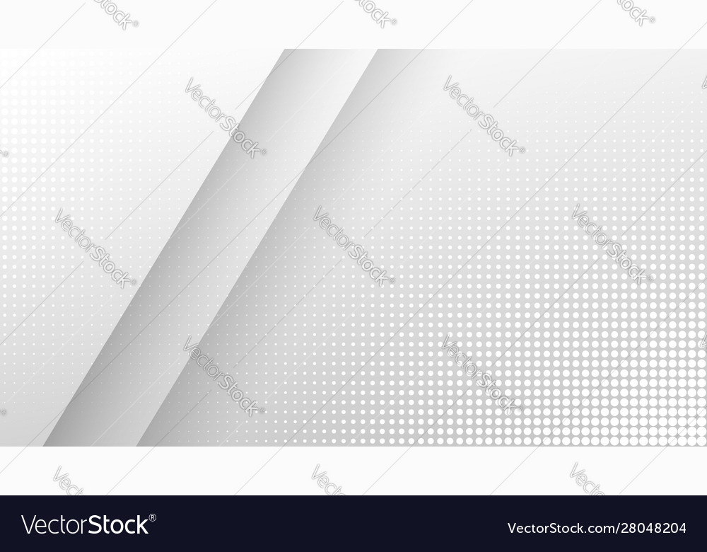 Halftone light gray geometric background