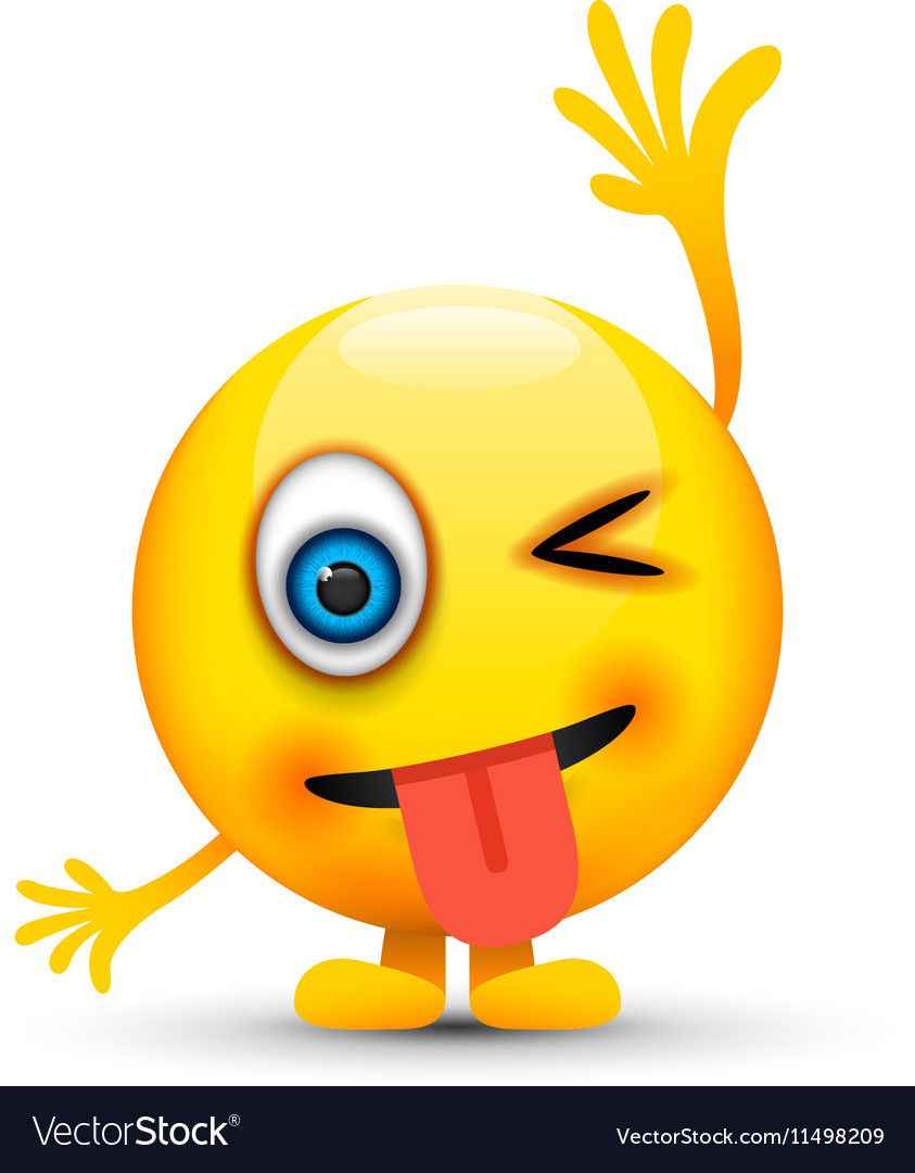 Hand up emoji character