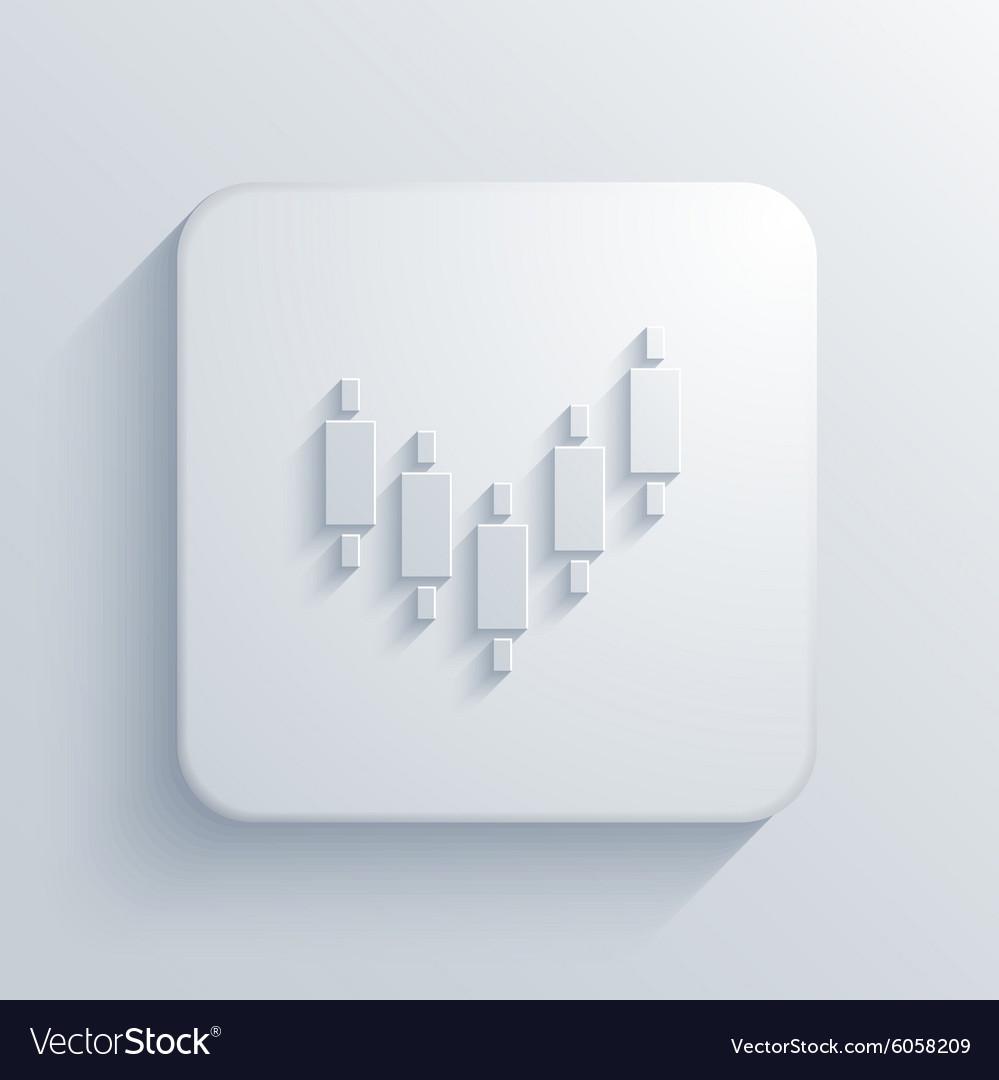 Modern binary options light icon
