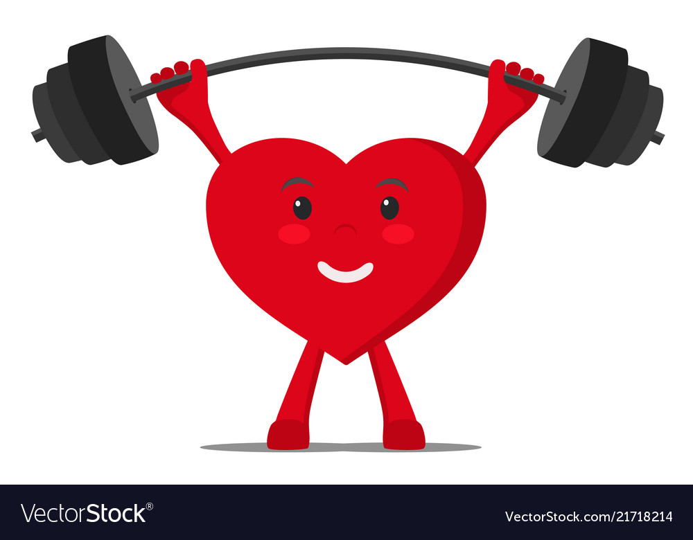 A healthy heart raises the bar with weights
