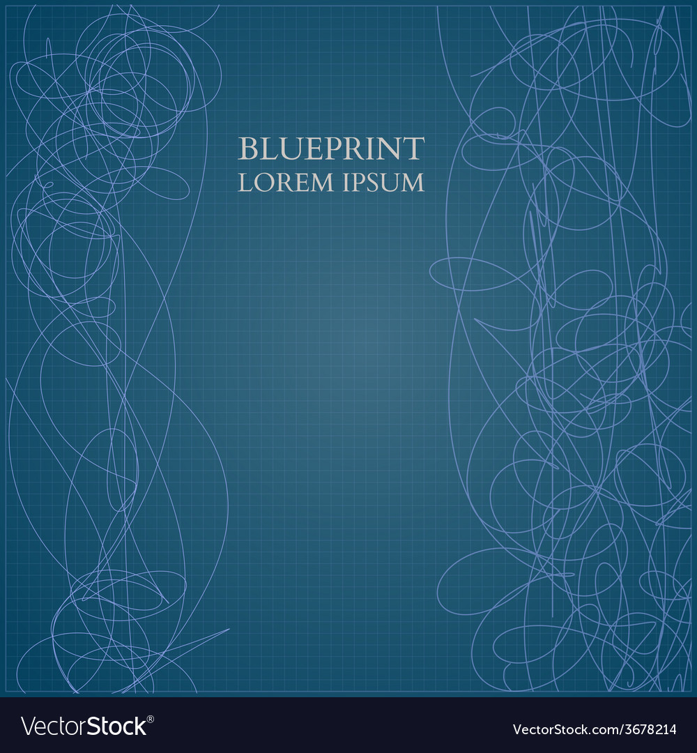 Abstract blueprint background for business vector image malvernweather Images