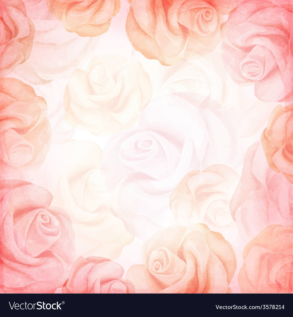 Abstract romantic background in pink colors