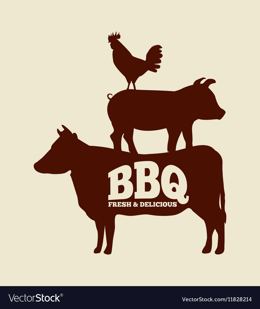 Bbq fresh and delicious design