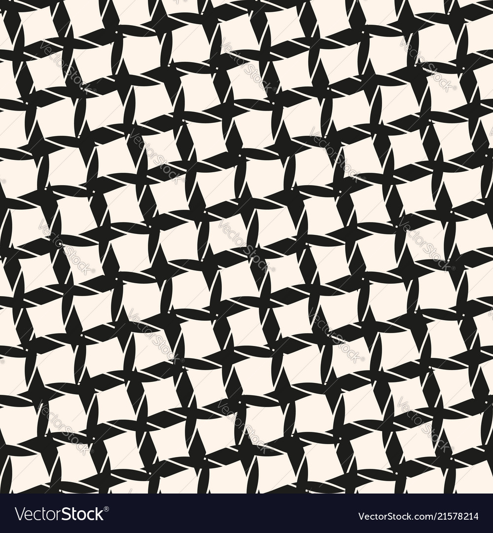 Black and white seamless pattern with diagonal
