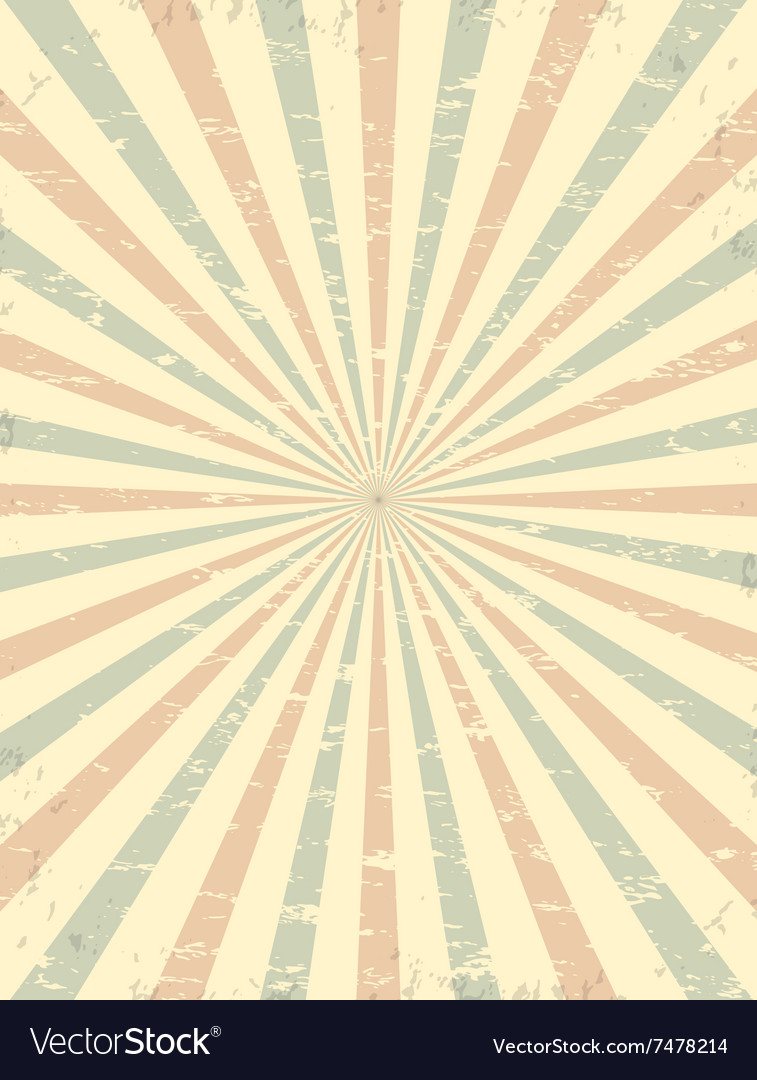 Vintage Grunge Circus Background Royalty Free Vector Image