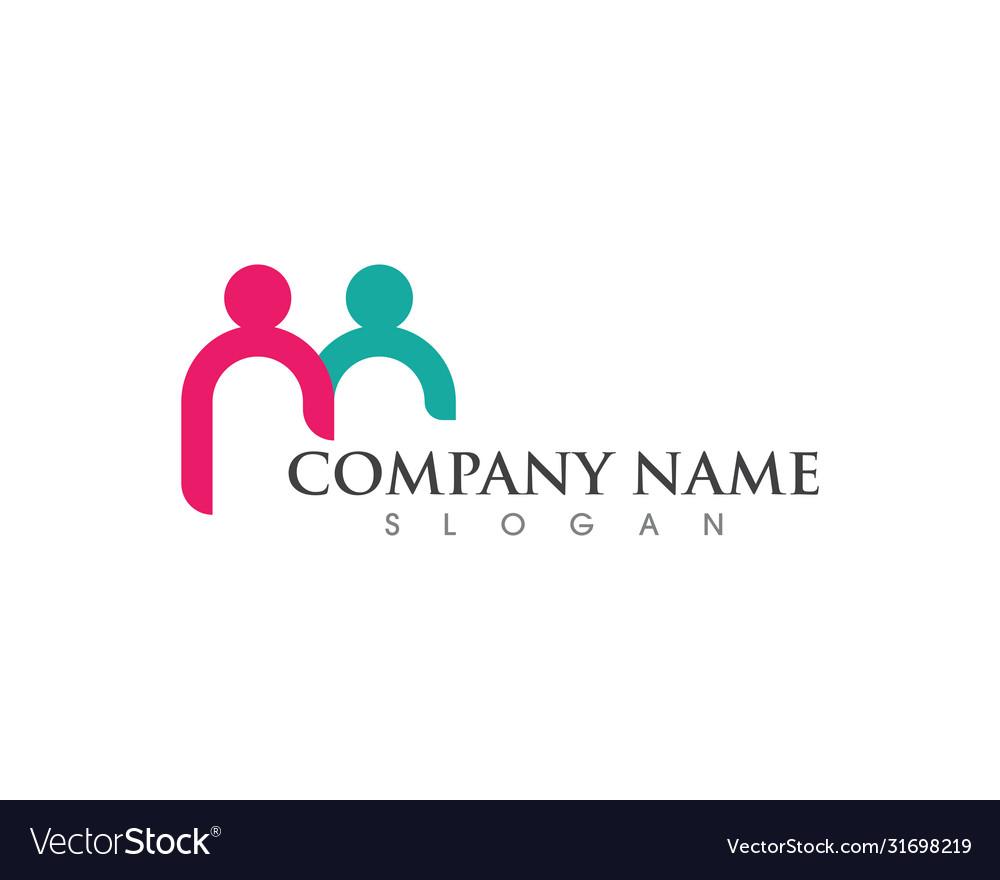 Community icon design template