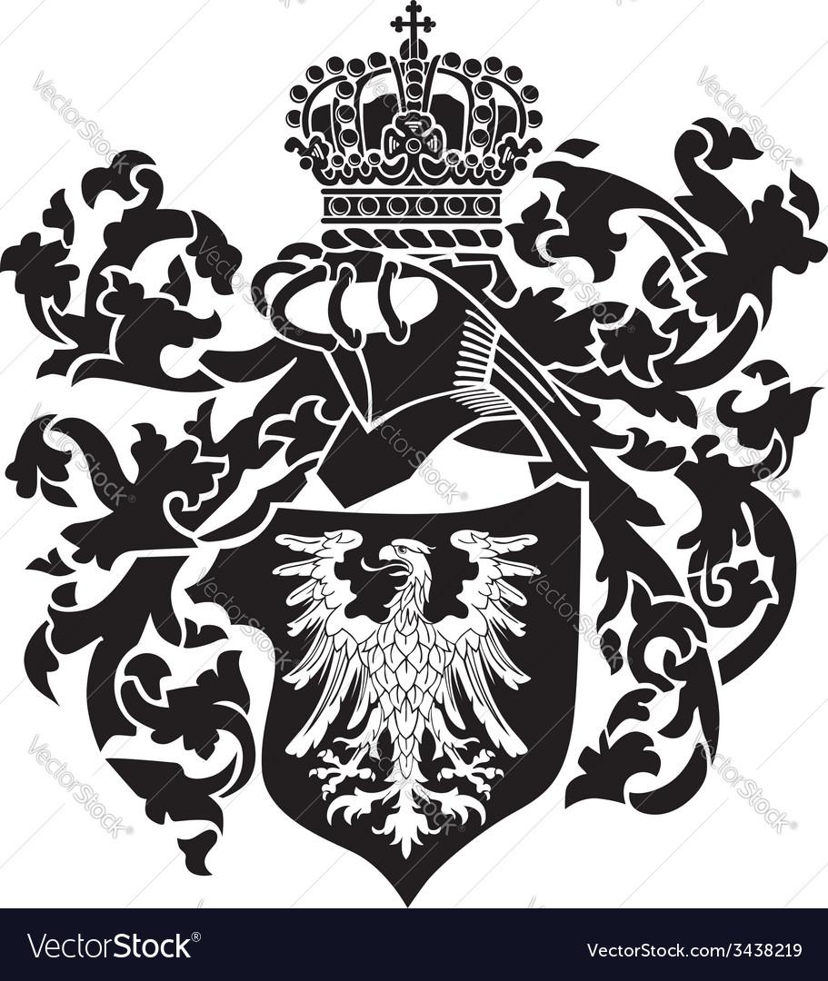 Heraldic silhouette no22