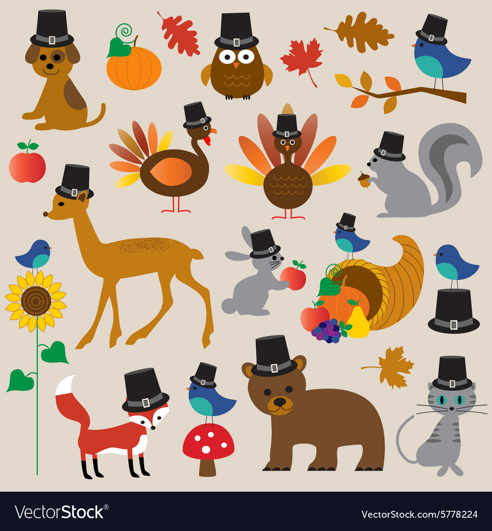 Thanksgiving animals