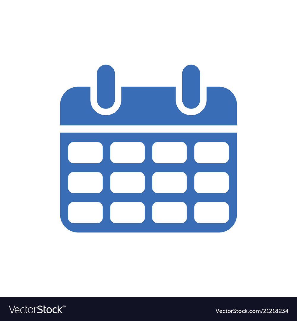 Calendar icon - event symbol - day or month icon