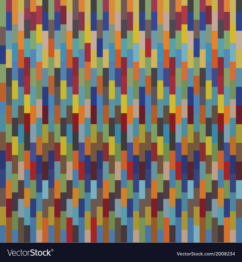 Seamless colorful square pattern mosaics