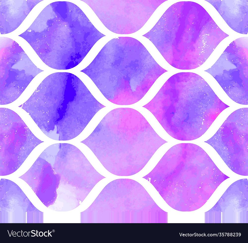 Morrocan ornament purple colors